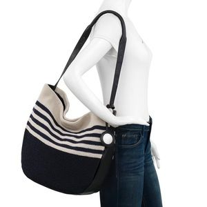 The Sak - 120 Crochet Large Hobo - Twilight Stripe